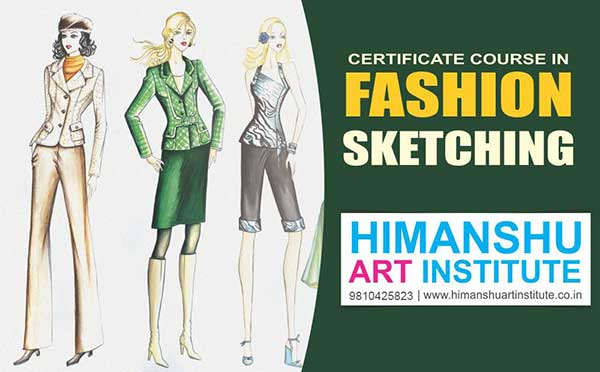 Fashion Sketching Classes For Fashion Designers And Designing Students Fashion Illustration Course In Delhi India