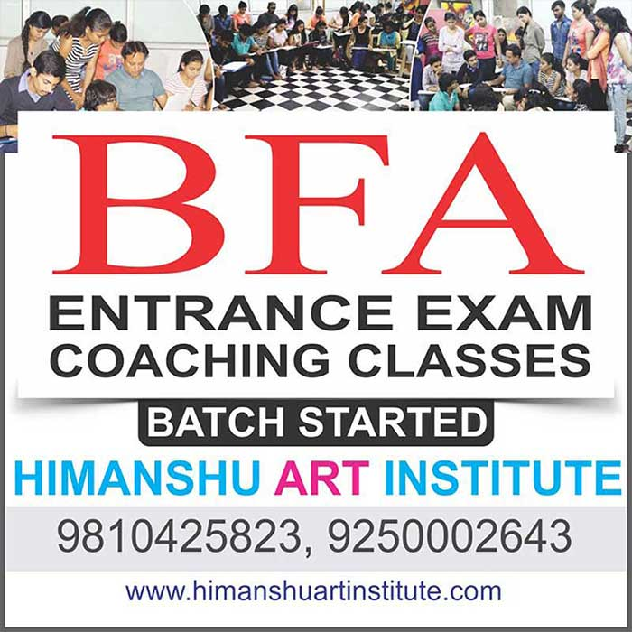 BFA Entrance Coaching and Preparation Classes